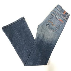 7 for all mankind Jeans Denim bootcut Low Rise 25